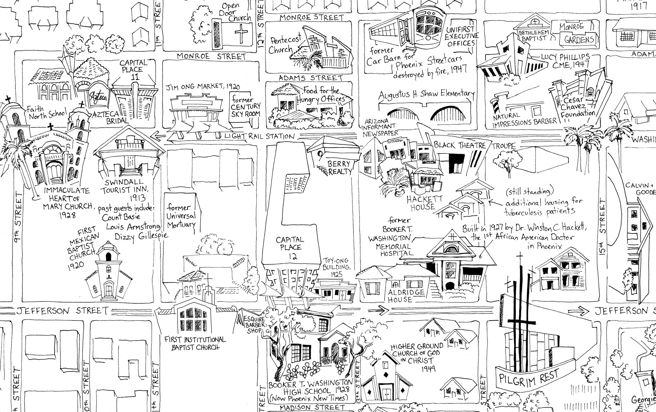 map illustration of Eastlake Park