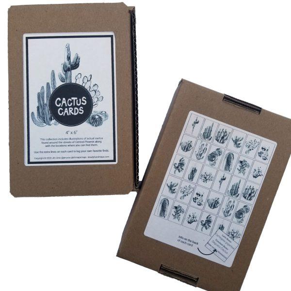 Cactus Cards Deck